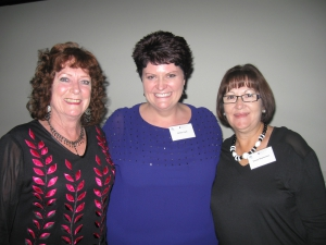 Our organisers Jan Burton, Cathey Clarke and Tracey Stephenson.